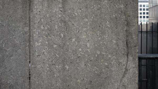 Concrete slab with rock chips