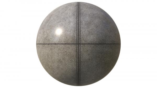 Polished concrete floor texture