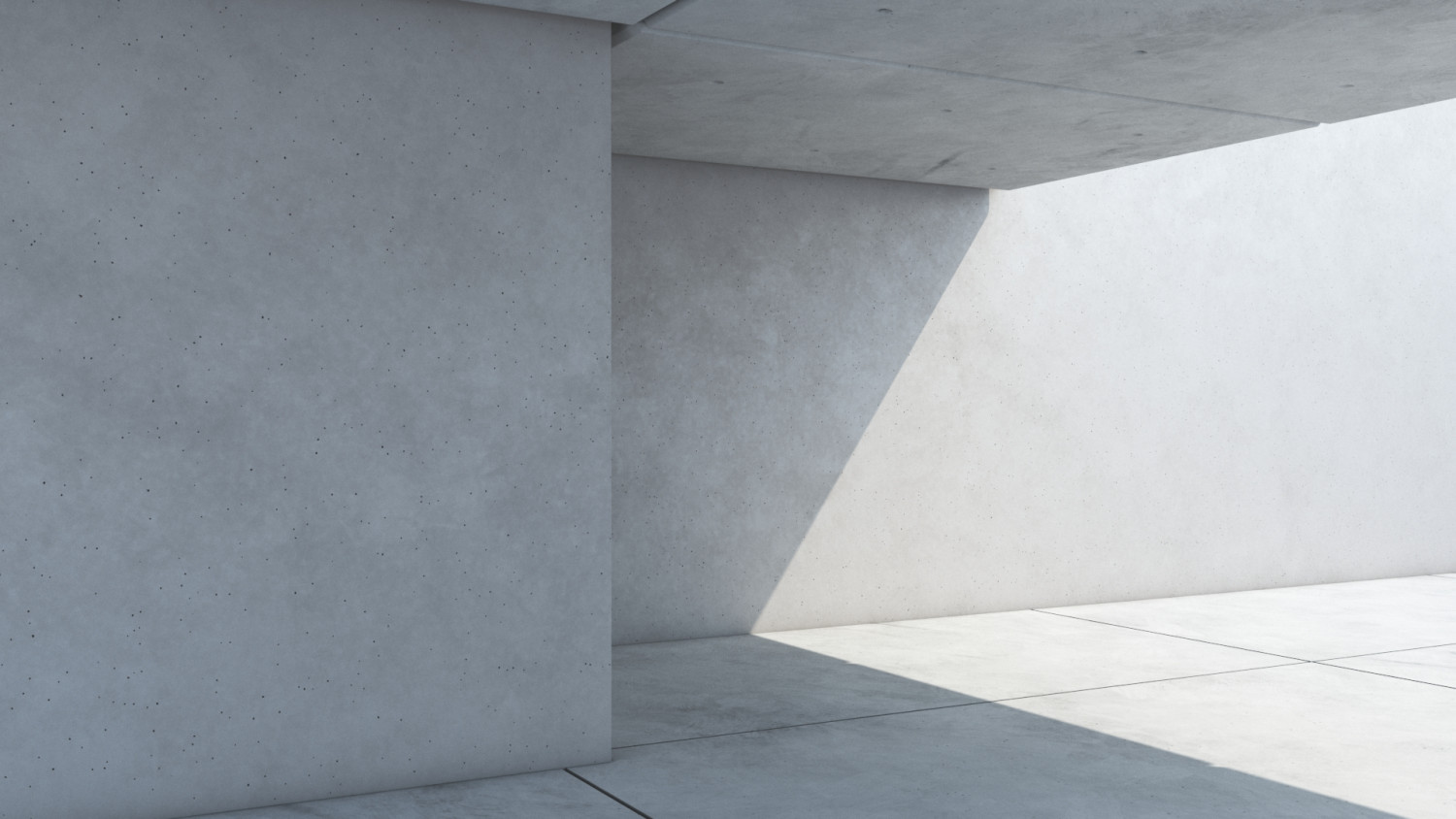 Smooth architectural concrete texture