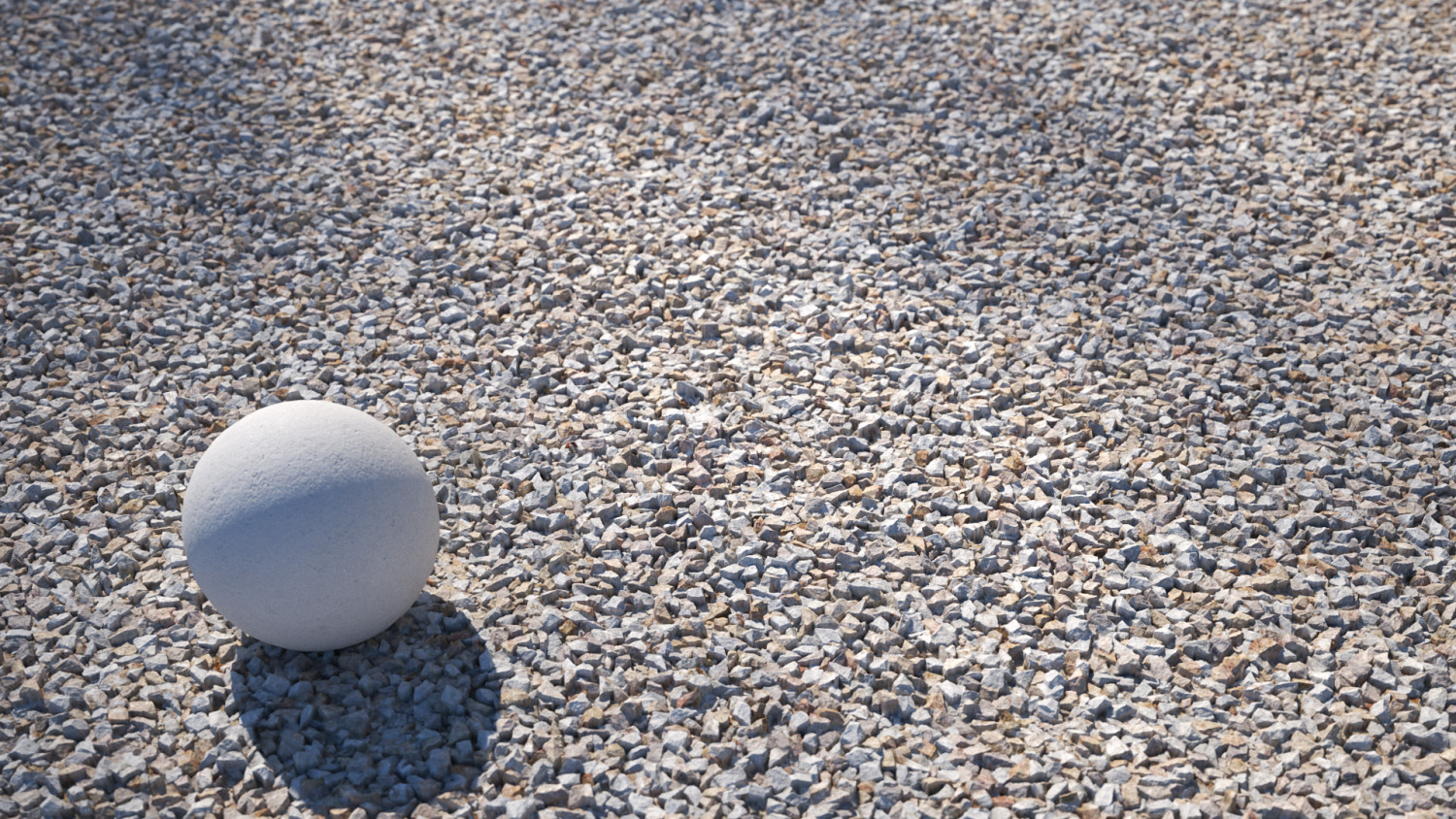 White granite gravel texture