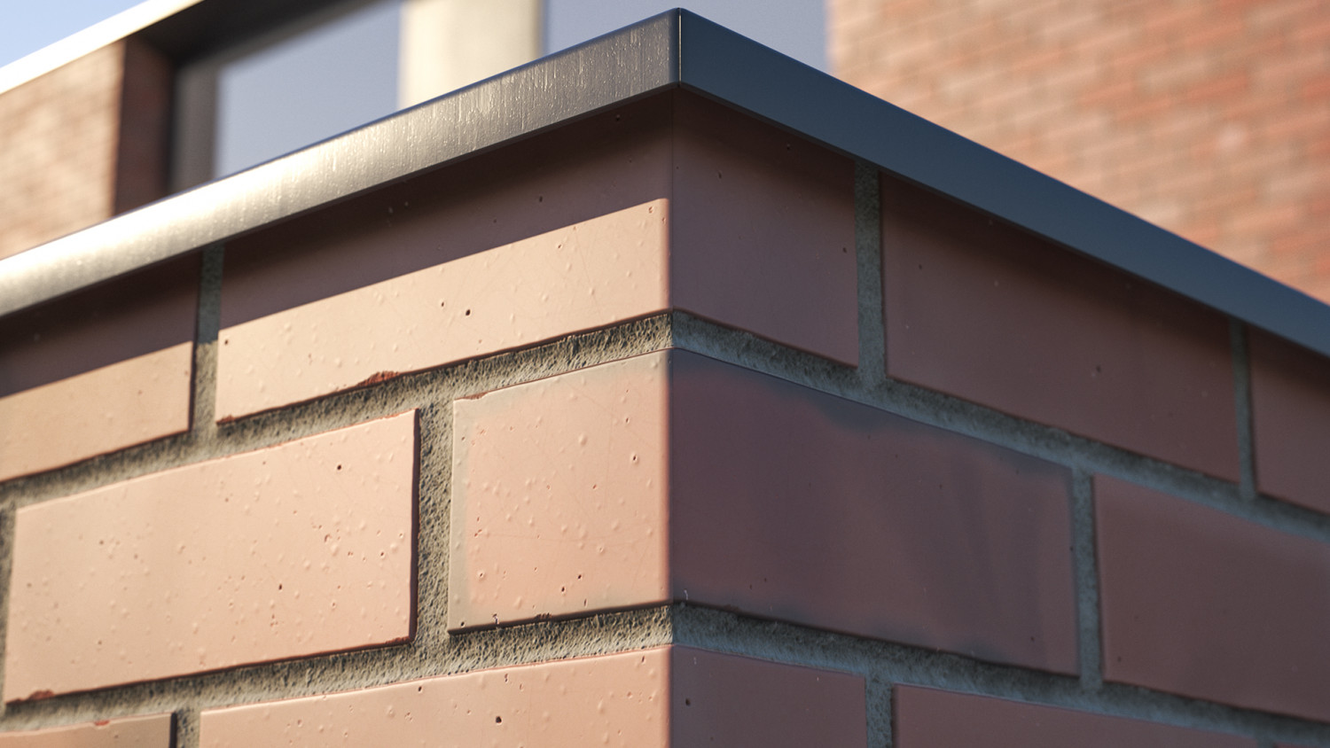 Smooth clinker brick texture